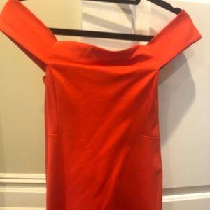 Cynthia Steffe Off Shoulder Mini Dress